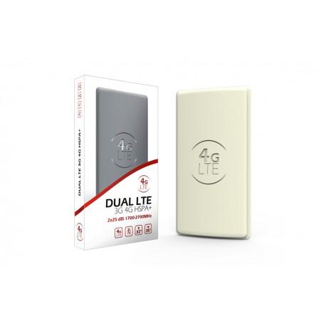 Antena Panelowa 3G / 4G LTE 2x25dBi MIMO DUAL SMA