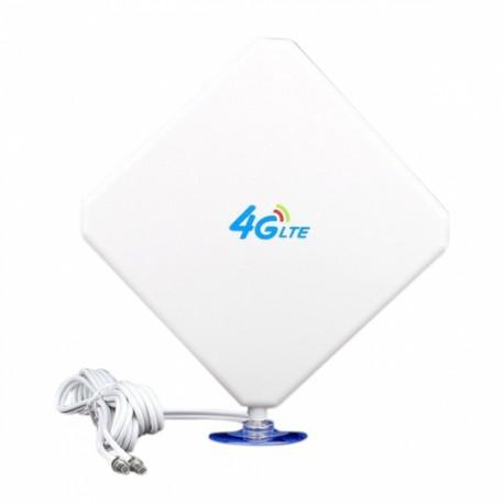 ANTENA LTE 4G 25dBi 2xCRC9 3m