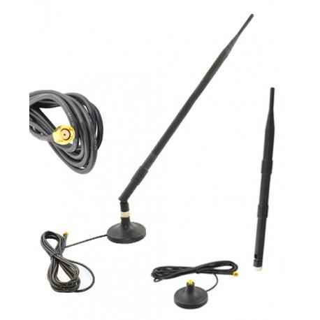 Antena WiFi 12dBi SMA-RP